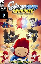 Scribblenauts Unmasked: A DC Comics Adventure - STEAM - KEY - Code - Digital  PC
