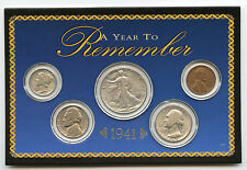 1941 A Year to Remember Coin Set - American Collection - Silver - AK850