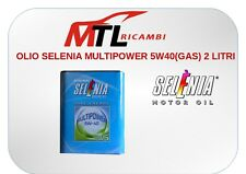 OLIO SELENIA MULTIPOWER 5W40(GAS) 2 LITRI