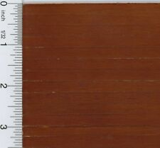 Dollhouse Miniature 1:12 Dark Wood Flooring Sheet in Worn Look (1/4 Inch Slat)