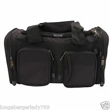 BULLDOG RANGE BAG PISTOL AMMO CASE SHOOTING LARGE COMPARTMENT 4 POCKETS & STRAP
