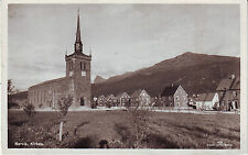 Norway Norge Narvik - Kirken circa 1930 unused real photo postcard