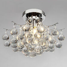 New Rain Drop Modern Crystal Pendant Lamp Ceiling Lighting Chandelier Lighting K