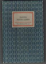 Dantes Neues Leben, Leipzig 1942 (Friedrich von Falkenhausen) Nr. 101
