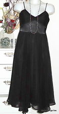 CCDK Copenhagen Long vestido dress m 38 monica leveriing kjole negro Black
