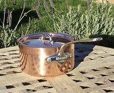 Mauviel 1830 Copper 1.9 L Saucepan w/ stainless steel interior, Made in France