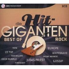 DIE HIT GIGANTEN-BEST OF ROCK 3 CD ZZ TOP UVM NEU