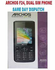 BRAND NEW PHONE Archos F24 - Mobile phone - DUAL-SIM microSDHC slot -Black