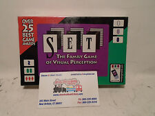 Set The Family Card Game of Visual Perception NEW IN SEALED BOX WITH FREE SHIPPI