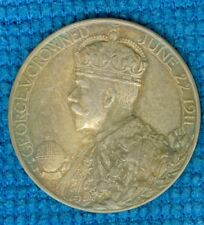 1911 British Medal Issued for the Coronation of King George V, by B. Mackennal