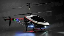 "UDI U12A RC 3 Channel Large Scale 30"" Metal RC Helicopter Electric w/Camera"