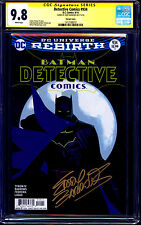 Detective Comics #934 VARIANT CGC SS 9.8 signed Eddie Barrows REBIRTH NM/MT