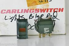 NEW CARLING BILGE PUMP ROCKER SWITCH Latching ON/OFF/ONAUTO LIGHTED Marine Boat