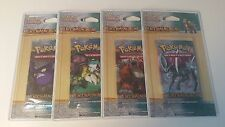 BOOSTER POKEMON - HS DECHAINEMENT - NEUF FR SOUS BLISTER - LOT DE 4
