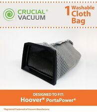 Hoover Washable Cloth PortaPower Vacuum Bag, Part # 43662023