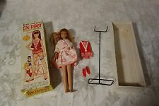 Vintage 1963 Skipper Barbie Doll Original Box and Extra Clothes