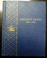 1909-1940 Lincoln WHEAT Cents  Partial Collection  1909 V.D.B. to 1940-S