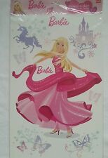 Barbie 3 Bogen XL Aufkleber,Sticker  Wandtattoo,Deko,Wandsticker,NEU,new,Mattel