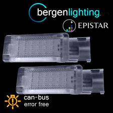 FOR VOLKSWAGEN GOLF & PLUS CADDY 18 LED FOOTWELL LIGHT LAMP PAIR