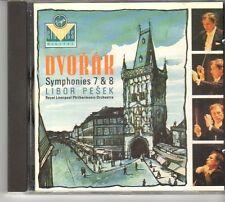 (ES35) Dvořák: Symphonies #7, 8 & 9 [Disc 1] - 1989 CD