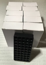 NEW reloading boxes 9MM 380 10 BOXES WITH TRAYS