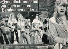 The SWEET 2 page ARTICLE / clipping from German Bravo magazine