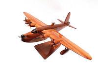 Short Sunderland bomber - British Aircraft / Military - Wooden desktop model