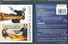 THE TRANSPORTER/TRANSPORTER 2 BLU-RAY 2 DISC