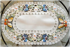 Butterfly Lace  Doily  Butterfies & Daisies  Placemat Runner