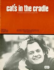 HARRY CHAPIN - CAT'S IN THE CRADLE - VINTAGE SHEET MUSIC AUSTRALIA