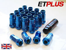 Blue GT50 Wheel Nuts x 20 12x1.25 Fits Nissan 350Z 370Z Nismo Fairlady