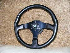 Momo d36 volante deportivo de cuero 360mm buje bmw e36 m3 Coupe Cabrio sedán e31 850i Abe