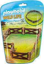 Home4) PLAYMOBIL ®  Zaun Koppel Tiergehege Set 6946 City Life Zoo Serie