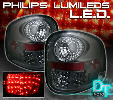 Smoke Tinted 97-03 F-150 F150 [Flareside] Philips Lumileds LED Tail Lights Set