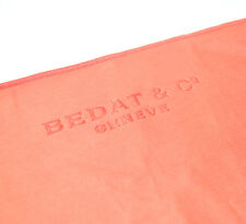 Brand New Bedat & Co Geneve Promotional Microfiber Watch Jewelry Cloth Orange