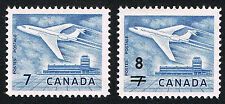 Canada Sc# 414 & 430  = 1963 & 64 OTTAWA and OVERPRINT = MINT XF NH PAIRS