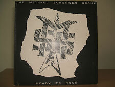 "THE MICHAEL SCHENKER GROUP - Ready to Rock 7"" P/S 1981 Chrysalis CHS 2541 Ex/Ex"