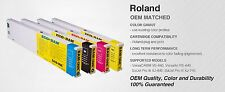 SAM*INK Ink 440mil Eco-Sol MAX Cartridge for Roland printers 4 colors CMYK