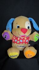 Fisher Price Laugh & Learn Puppy Dog Learning toy plush singing colors talking