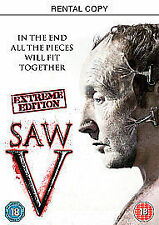 SAW 5 - EXTREME EDITION (DVD) + SPECIAL FEATURES.