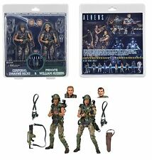 "NECA Aliens - 7"" Scale Action Figures - Colonial Marines Hicks & Hudson 2-Pack"