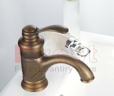 Traditional Classic Antique Style Bathroom Basin Sink Faucet Mixer Taps Copper