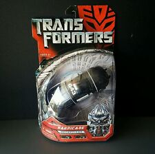 Transformers Movie BARRICADE deluxe original rare VHTF 2007 hasbro