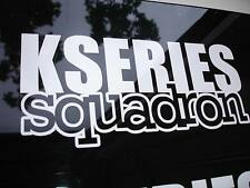 K Series Squadron Sticker Decal K20 K24 Civic Accord