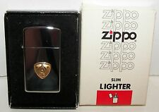 Thin Zippo W E with Bell  (Boxed)