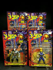 1995 TOYBIZ X-MEN X-FORCE SERIES 7 RARE 4 FIGURE SET ARTIC STEALTH CABLE D102