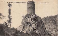 AUREC-SUR-LOIRE 19 la tour d'oriol écrite 1923