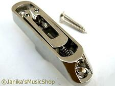 Single individual nickel bass guitar bridge saddle strong string anchor top load