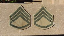 WW2 USMC Marine Corps Bevo Staff Sergeant Original Chevrons Insignia ORIGINAL