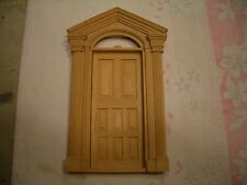 VINTAGE DOLLHOUSE VICTORIAN 8 PANEL FRONT DOOR (#3) 1/12TH, SCALE, MINT,  WOW!!